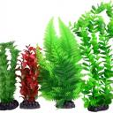 Plastic Plant 4 pack Mix 3